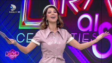 """O noua celebritate intra in competitie! Iata ce se intampla miercuri, la """"Bravo, ai stil! Celebrities"""", de la ora 22:00, la Kanal D!"""