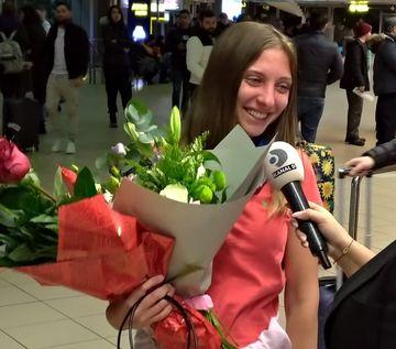 Alexandra s-a intors in Romania! Primele declaratii ale razboinicei: ''Se poate spune ca am regretul ca...''