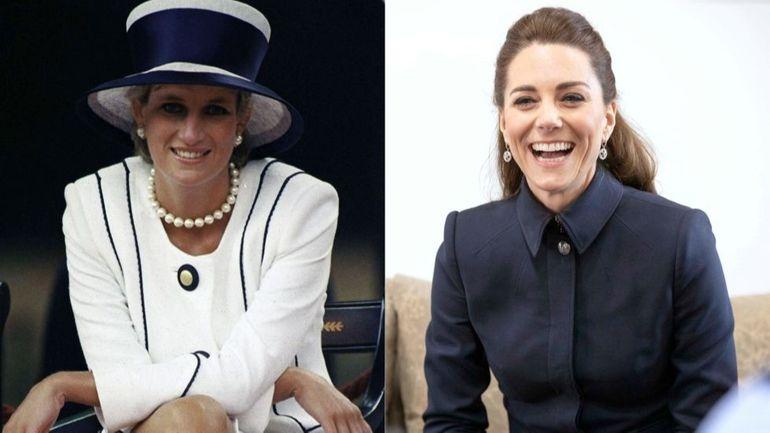 Kate Middleton si Printesa Diana