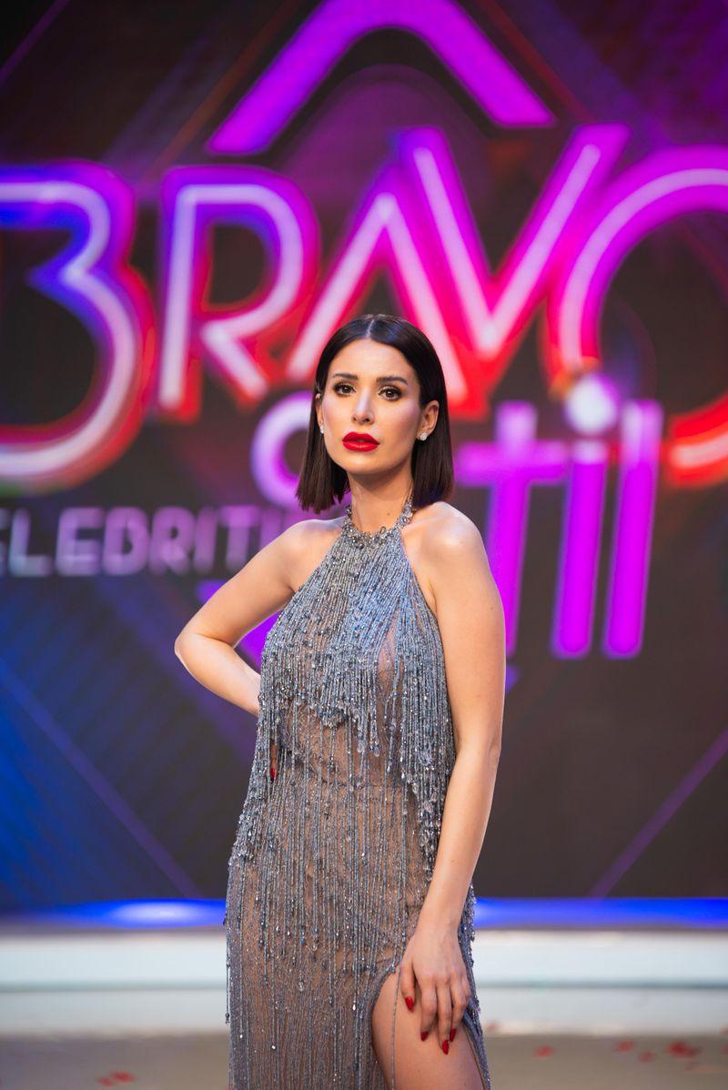 """Deea Codrea """"s-a tunat"""" inainte de a participa la """"Bravo, ai stil! Celebrities"""""""