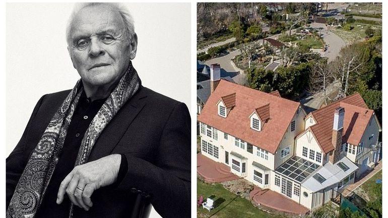 Cum arată casa pe care Anthony Hopkins o vinde cu 11,5 milioane de dolari