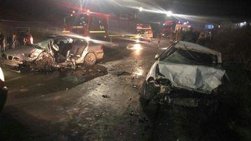 ACCIDENT GRAV între Cluj-Napoca și Zalău! Un bărbat a murit, iar alte patru victime au ajuns la spital