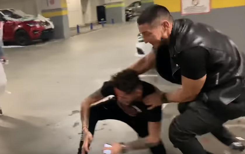 """Nikolas Sax, facut praf de Bogdan Mocanu intr-o parcare din mall: """"M-am razbunat pe tradatori"""" VIDEO"""