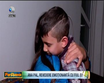 Ana Maria Pal, revedere emotionata cu fiul ei! Cu ce meniu a fost asteptata faimoasa