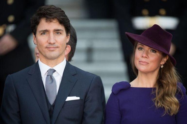 Image result for Premierul Justin Trudeau sotia