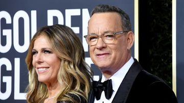 Foto - Tom Hanks, mesaj din spitalul unde este tratat de coronavirus, impreuna cu sotia sa Rita Wilson
