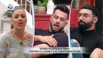 Roxana a plecat din emisiune dupa un scandal cu Turcu! Ce s-a intamplat