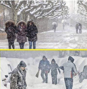 Se intoarce iarna in Romania! Val de aer rece, ploi, lapovita si ninsoare! Cand si unde va ninge