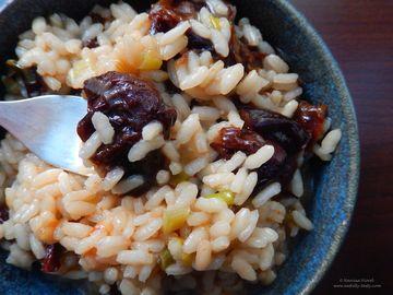 Reteta de post - Mancare de prune uscate cu orez