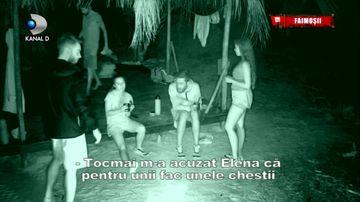 """Scandal urias in echipa Faimosilor! Ghita, luat la tinta de colege: """"Prietene, nu mai face asa"""""""