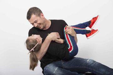 """Mesajul lui Dan Cruceru pentru fiica lui: """"Fata mea, fii buna azi, ca maine, inca , sa avem un viitor cu totii!"""""""