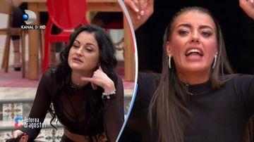 """Impacarea anului la """"Puterea dragostei""""! Roxana si Manuela au ingropat securea razboiului"""