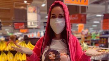 """Raluca Munte, aparitie inedita, la cumparaturi! Iata cum a ales fosta concurenta de la """"Puterea dragostei"""" sa se protejeze de coronavirus si ce sfaturi le-a transmis sustinatorilor ei!"""