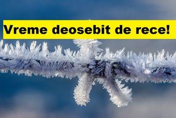 Vreme deosebit de rece pentru această perioadă a anului. Ce temperaturi vor fi înregistrate?