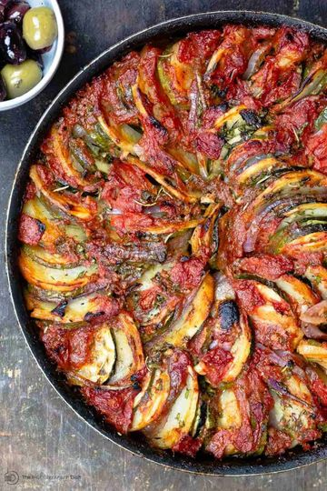 Reteta Briam - Ghiveci grecesc de legume