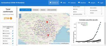 Coronavirus Romania: Situatia pe judete. Hatghita nu are cazuri de coronavirus