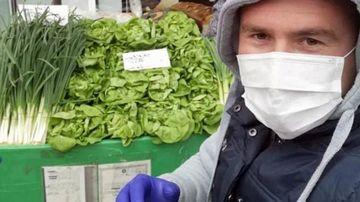 Piețe goale, agricultorii rămân cu legumele în solar