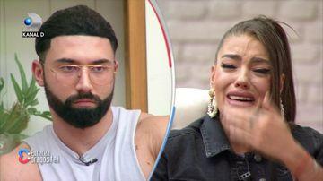 """Roxana a revenit la """"Puterea dragostei"""" si a plans in hohote: """"Il iubesc pe Turcu""""! Ea i-a cerut explicatii lui Catalin"""