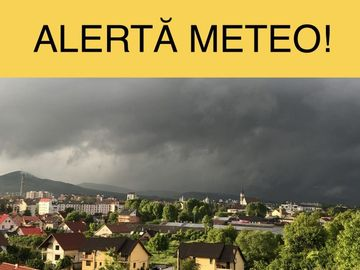 Alerta meteo! Este cod galben in mai multe judete! Rafalele de vant lovesc Romania!