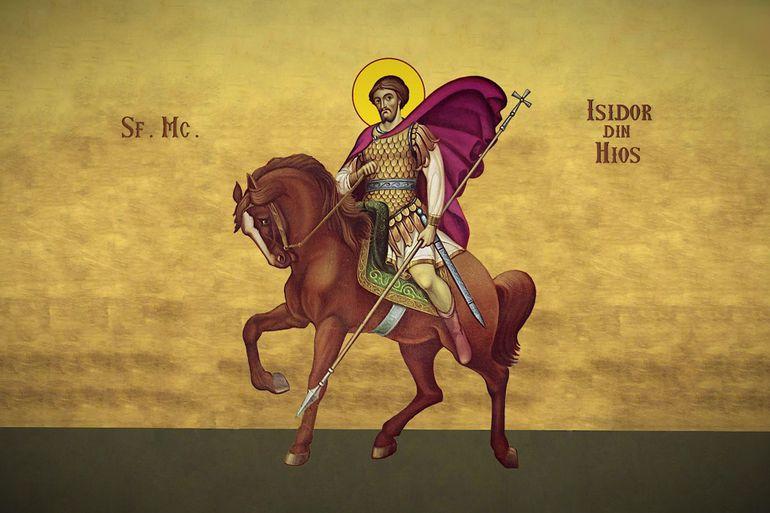 Sfantul Mucenic Isidor din Hios