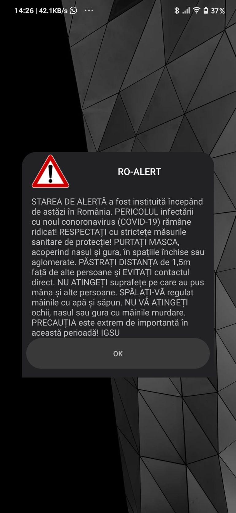 Mesaj ro-alert