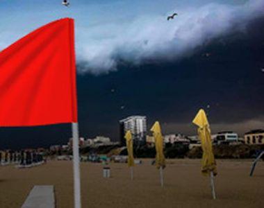 VIDEO| Marea capcană din larg. Fenomene extreme pe litoral