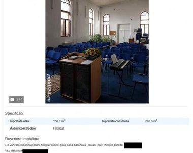 Românul care vinde biserica pe internet