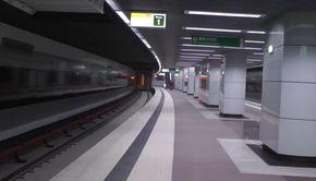 Imagini incredibile cu staţia de metrou Romancierilor, de pe magistrala Drumul Taberei - VIDEO