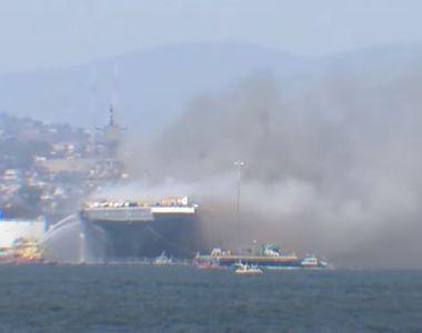 Alertă în Statele Unite! Incendiu devastator. VIDEO terifiant