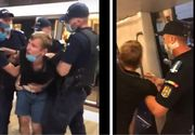 Scene șocante la metroul din Capitală. Ce a pățit un tânăr care a refuzat să poarte masca