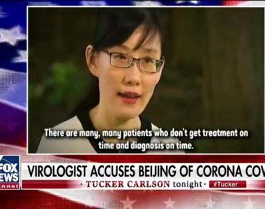 """Secretul din spatele virusului COVID-19: """"Dacă aș spune la Hong Kong, aș fi ucisă!"""""""