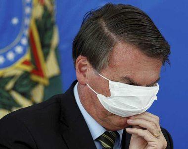 Ce a pățit președintele Braziliei, Jair Bolsonaro, aflat în izolare. A fost mușcat! (FOTO)