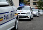 Accident în București cu mașina poliției. Un jandarm a ajuns la spital - FOTO