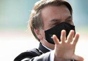 Veste proastă primită de președintele Braziliei, Jair Bolsonaro, infectat cu COVID-19