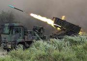 Exerciții cu muniție reală pentru respingerea unei invazii a Chinei