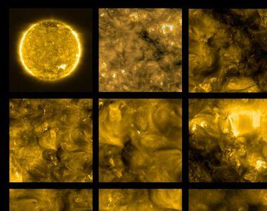 Cea mai apropiată poză cu Soarele din istorie. Exploziile solare i-au uimit pe oamenii...