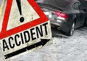 VIDEO| Accident grav: O șoferiță băută a intrat cu mașina într-un bloc din Mamaia