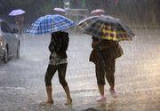 Avertizare meteo de ultima oră. Cod portocaliu de ploi și vijelii, până duminică seara