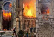 Incendiu devastator la catedrala din Nantes. Nu este exclusă ipoteza unui act criminal