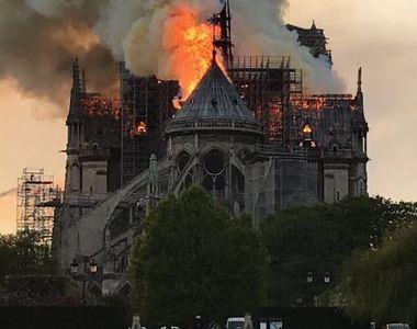 Lovitură de teatru. Cine a fost arestat după incendiul devastator de la Catedrala din...