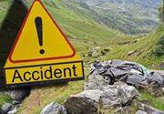 VIDEO| Accident cumplit pe Transfăgărășan. Șoferul a murit, iar prietenii lui sunt în stare gravă