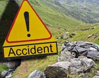 VIDEO| Accident cumplit pe Transfăgărășan. Șoferul a murit, iar prietenii lui sunt în...