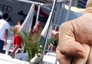 VIDEO| Scandal la o terasă de pe litoral: Clienții s-au luat la bătaie. A fost nevoie de intervenția agenților de pază