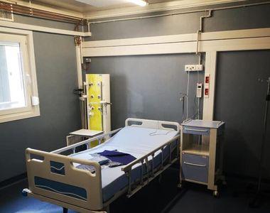Gabriela Firea anunţă deschiderea spitalului modular construit în curtea Spitalului...