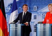 Angela Merkel şi Emmanuel Macron, anunţ de ultimă oră