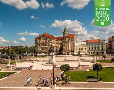 VIDEO - Oradea, un oraș de poveste. Imagini superbe cu unul dintre cele mai frumoase...