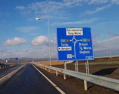 Primul tronson de autostradă care se deschide anul acesta