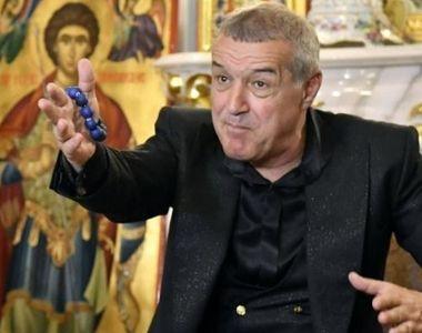 Gigi Becali: Nu mă mai interesează campionatul, eu plec la mănăstire