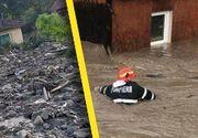 VIDEO - Vreme extremă în România: Un adevărat dezastru în vestul țării, în urma ploilor