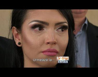 Andreea Mantea, în lacrimi chiar înainte de finala de la Puterea Dragostei